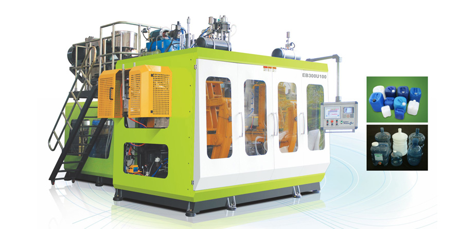 12 & 30 Liter Double Station High Speed Extrusion Molding Machines
