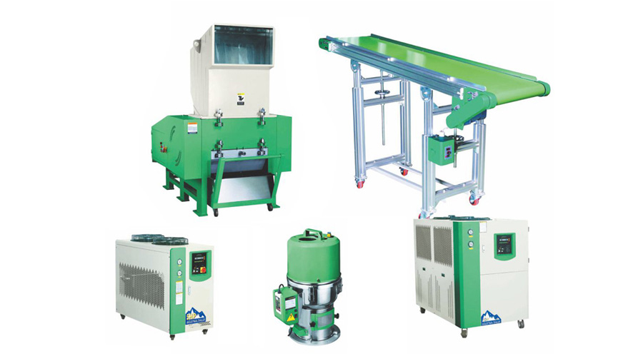 Auxiliary Equipment for extrusion Blow Molding Machines