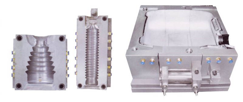 Blow Moulds for extrusion blow molding machines