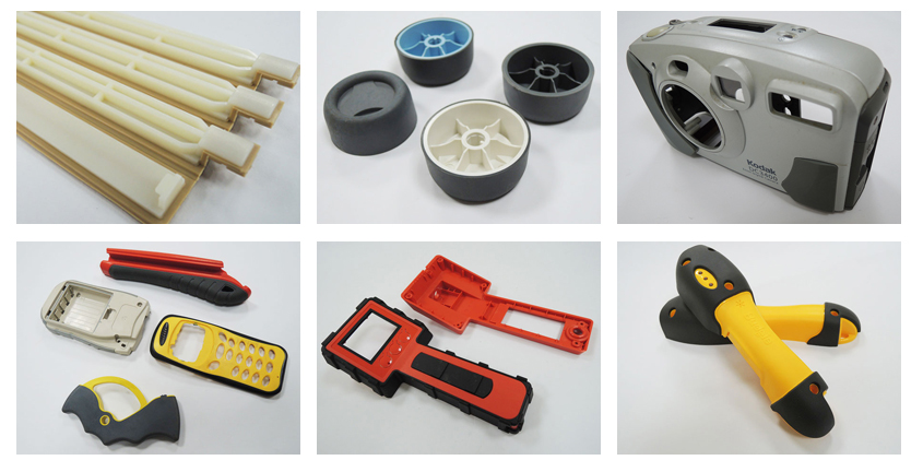 Double Injection Molding 2 color products