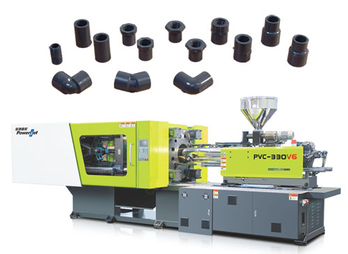 Injection Molding Machine for PVC_PPR fittings