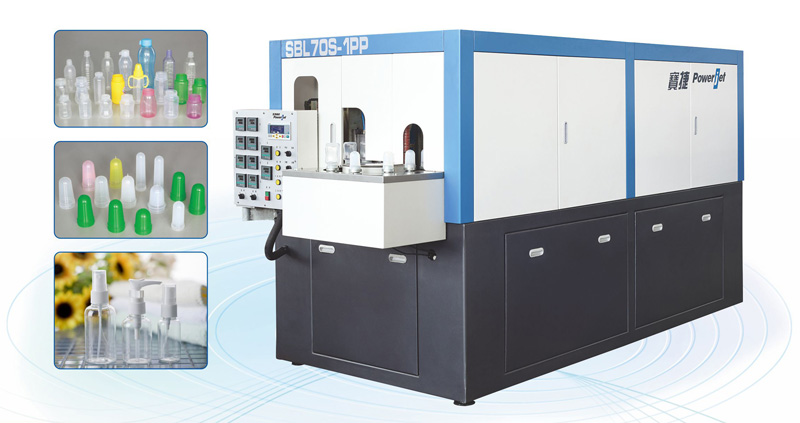 Automatic Stretch Blow Moulding Machines for PP Bottles like baby feedings