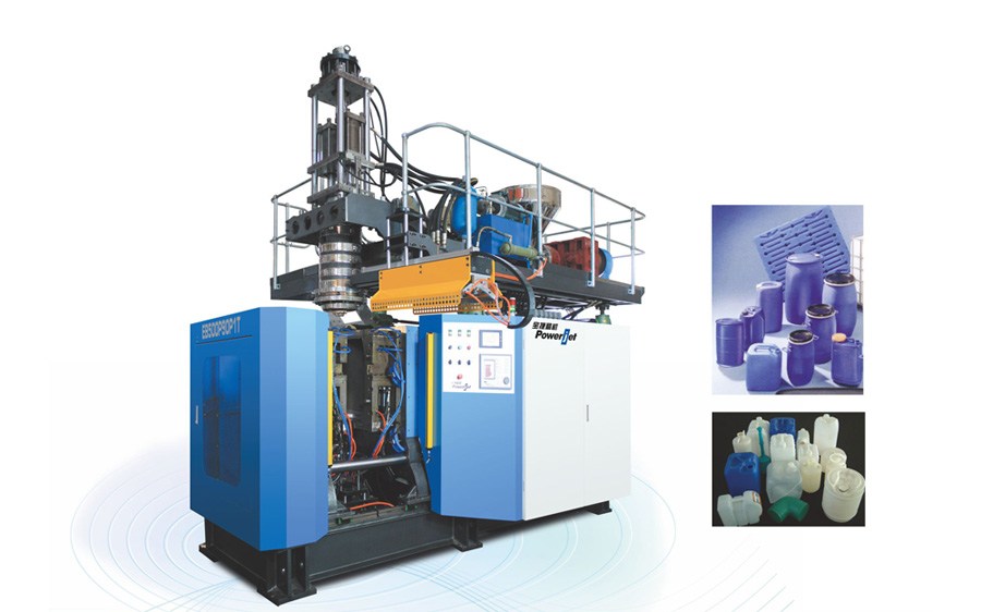 Vertical Fixed Mold Platen Extrusion Blow Molding Machine for 30 & 60 Liter Buckets