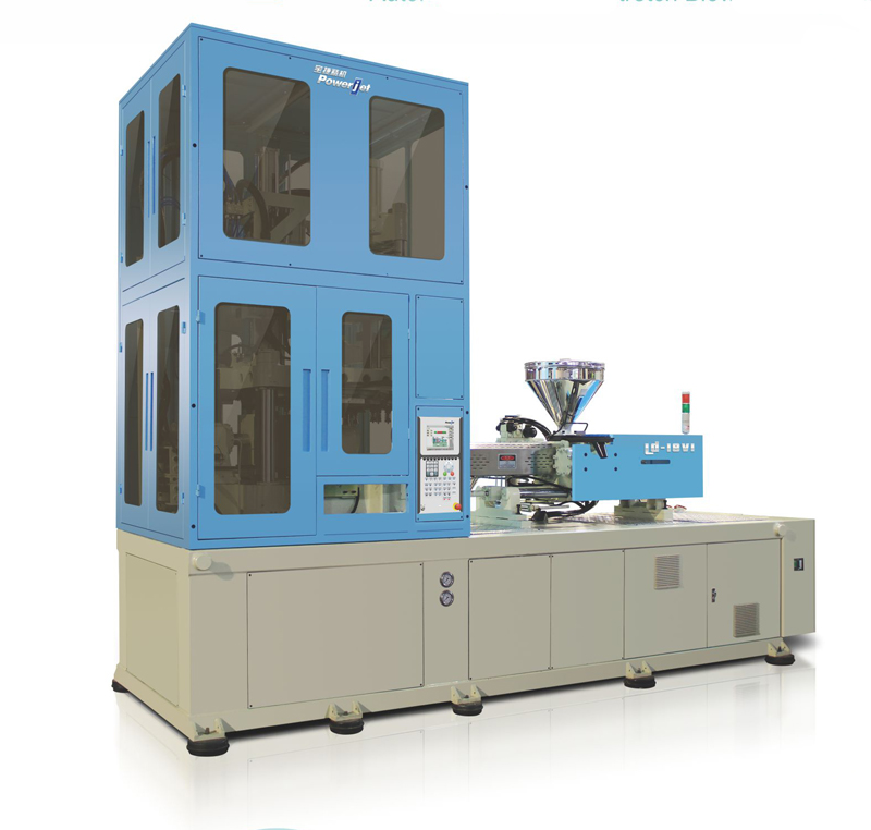 One-step vertical Injection Stretch Blow Molding Machines - LD18