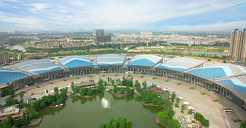 glance-of-chengdu-shiji-town-new-international-convention-and-exhibition-center